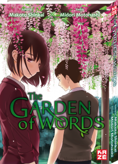Affiche de Garden of words (the)
