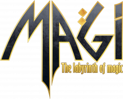 Magi The Labyrinth of Magic Logo