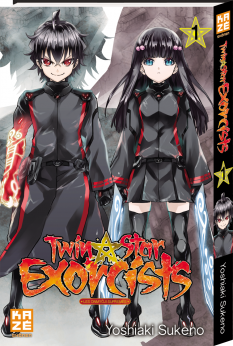 Affiche de Twin Star Exorcists