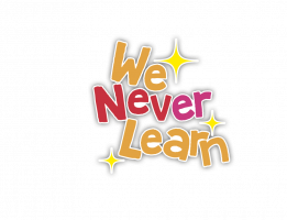 Logo de We never learn