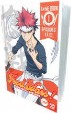 Food Wars - Saison 1, Box 1/2