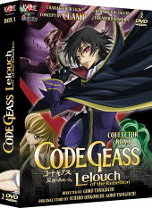 Code Geass - Saison 1, BOX collector 3/3
