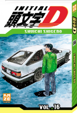 Initial D - Tome 16