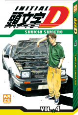 Initial D - Tome 4