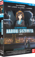 La disparition d'Haruhi Suzumiya - Film, édition collector
