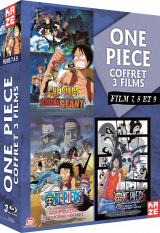 One Piece - Coffret films 7 à 9