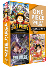 One Piece - Coffret films 4 à 6