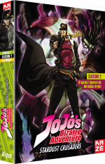 Jojo's Bizarre Adventure - Saison 2, Box 1/2
