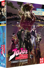 Jojo's Bizarre Adventure - Saison 2, Box 2/2