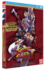 Street fighter II - Edition Combo DVD + Blu-ray