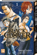 Black Clover : Quartet Knights - Tome 01