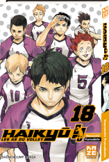 Haikyu!! Les AS du volley - Tome 18