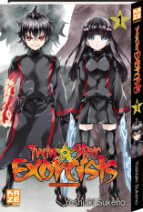 Twin Star Exorcists - Tome 1