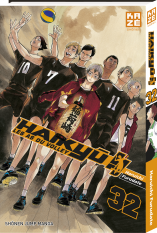 Haikyu!! Les AS du Volley - Tome 32