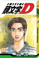 Initial D - Tome 34