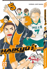 Haikyu!! Les AS du Volley - Tome 05